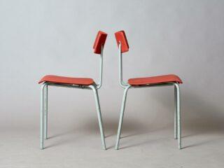 2 Ahrend tubular chairs - Utility Series
