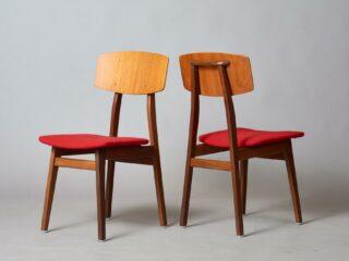 Vintage Teak Low Chairs