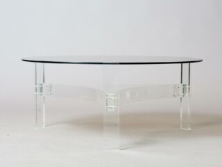 Round Space-Age Table Seventies
